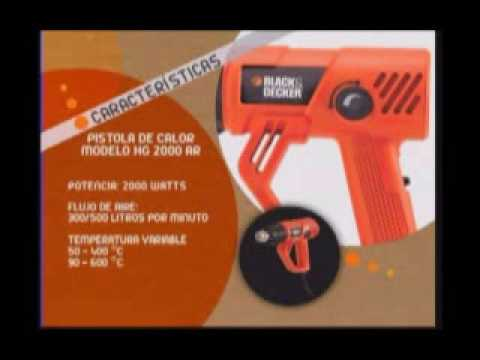 Herramientas tv pistola de calor hg 2000 black and - Pistolas de calor ...