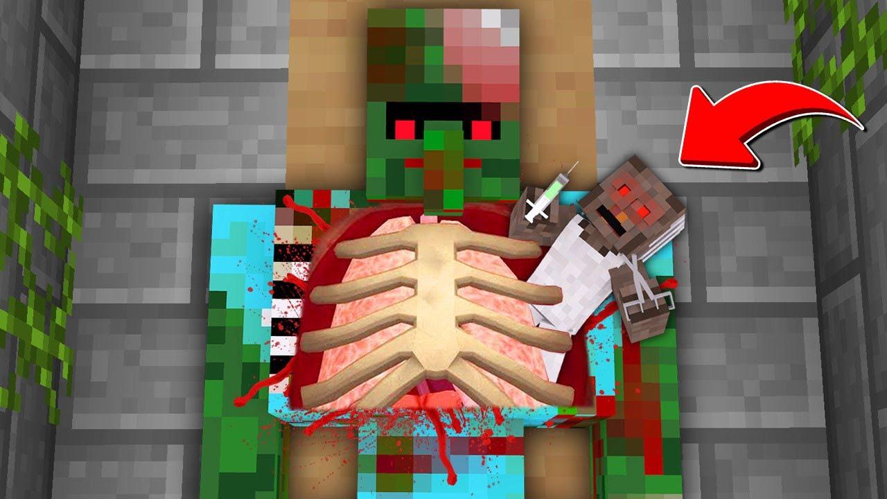 GRANNY, ZOMBİ KRALIN MİDESİNE GİRİYOR! 😱 - Minecraft