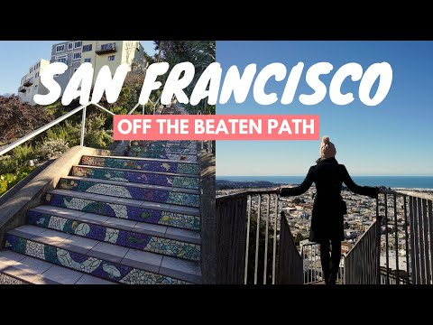 San Francisco Off the Beaten Path: Sunset District | Famous Mosaic Steps | Travel Vlog