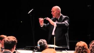 BRAHMS - Symphony No 3: IIII. Poco Allegretto - UNC Symphony Orchestra - 2013