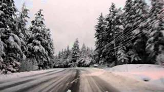 Don driving to work, 11/14/11, Juneau AK
