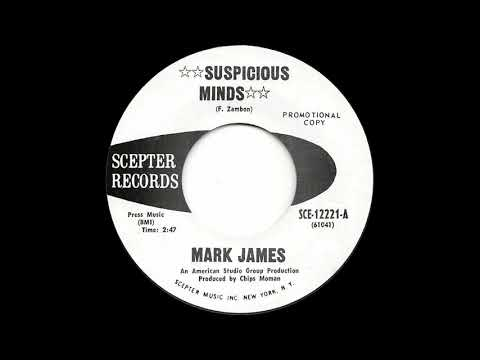 MARK JAMES  Suspicious Minds