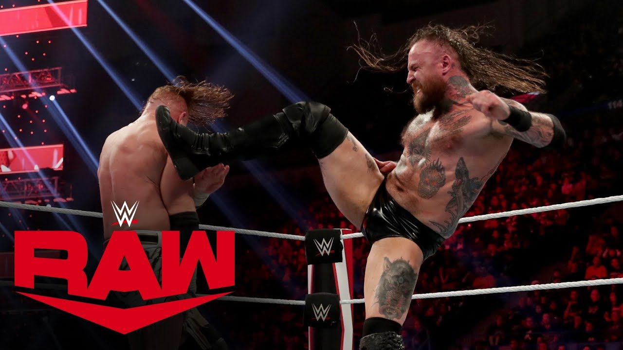 Aleister Black vs. Buddy Murphy: Raw, Dec. 30, 2019