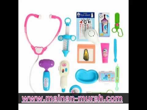 Mainan Peralatan Dokter Dokteran Youtube