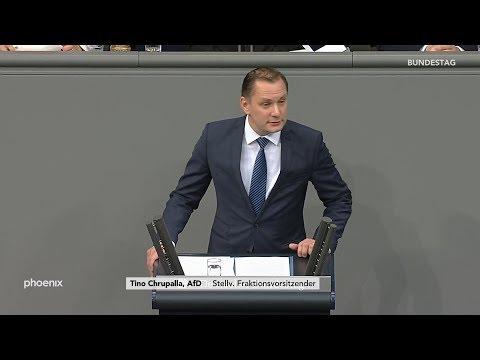 """Tino Chrupalla (AfD) zu """"30 Jahre Mauerfall"""" am 08.11.19"""