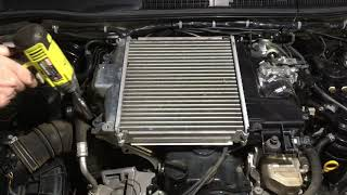 CHECK THESE CLAMPS & wires also how to remove hilux intercooler 120 prado same and not a catch-can