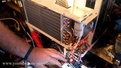 Let's repair a window air conditioner