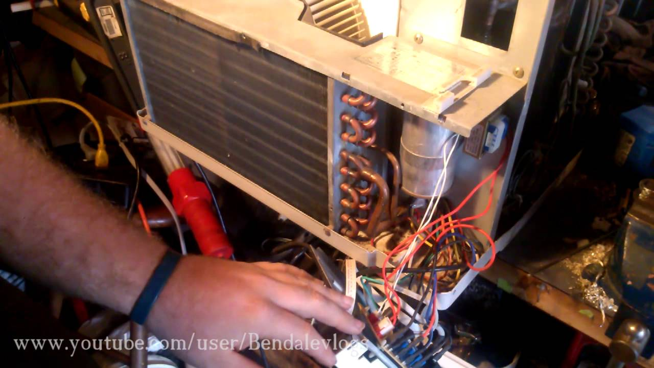 Split Ac Wiring Diagram 4 Prong Cane Let's Repair A Window Air Conditioner - Youtube