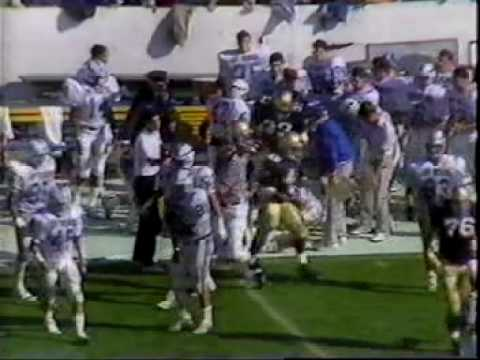 1986 Air Force Falcons Football, Army West Point, Derek Foster, EJ Jones (Part 23)