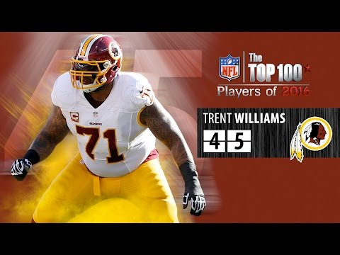 #45: Trent Williams (OT, Redskins) | Top 100 NFL Players of 2016