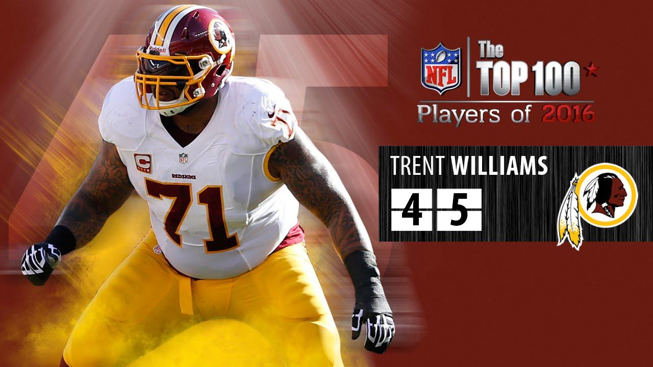 45 Trent Williams OT Redskins