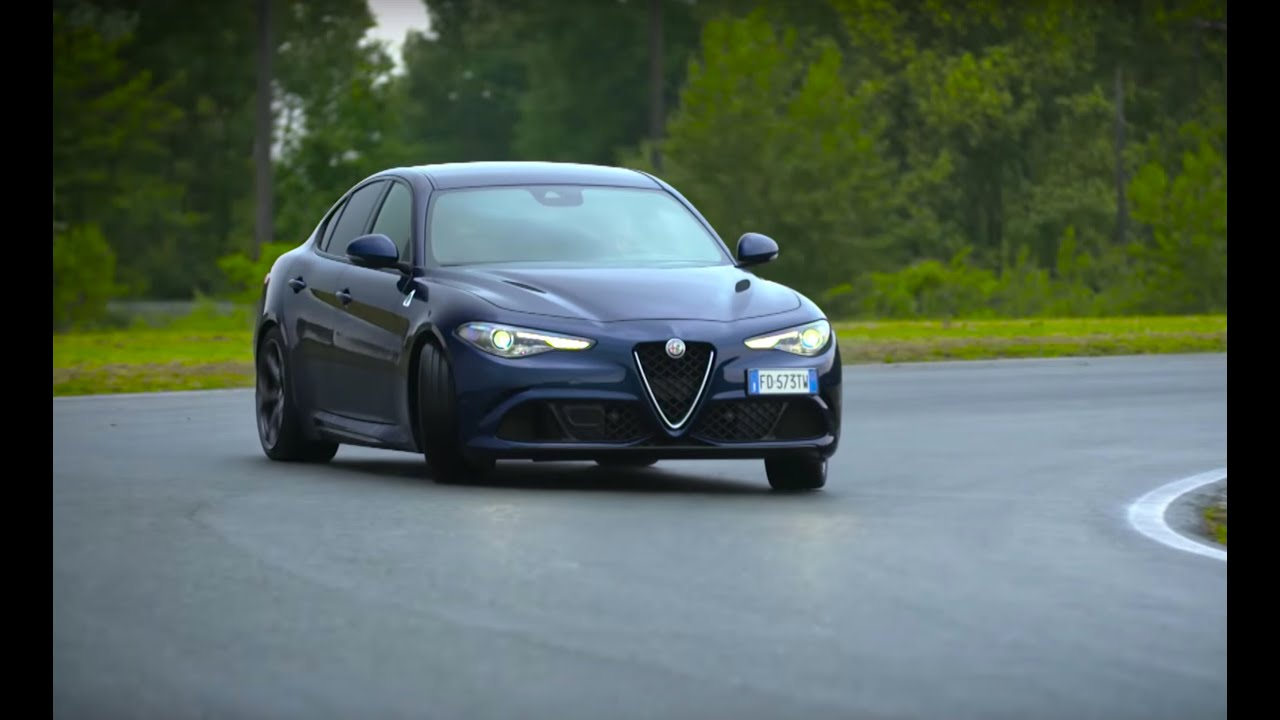 chris harris drives the alfa romeo giulia quadrifoglio. Black Bedroom Furniture Sets. Home Design Ideas