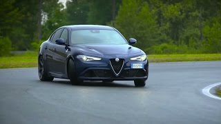 chris harris drives the alfa romeo giulia quadrifoglio chris harris drives top gear