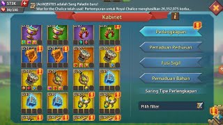 Opening 2K Monster Chests & Upgrade Gears..Lord Mobile