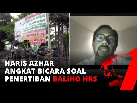 Tni Turunkan Baliho Hrs, Haris Azhar: Harusnya Satpol Pp Yang Bergerak! | Tvone