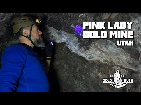 The Pink Lady - Fluorite/Gem Mine for Sale - Utah - 2016