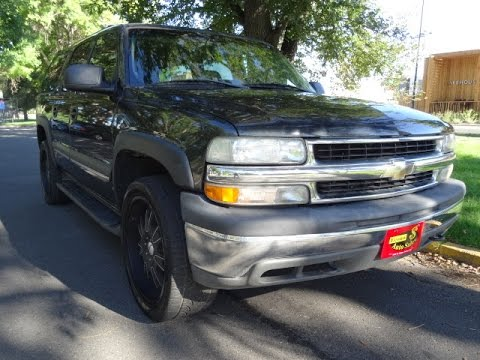 2003 chevy suburban no credit check car loans buy here pay here dealerships near me youtube. Black Bedroom Furniture Sets. Home Design Ideas