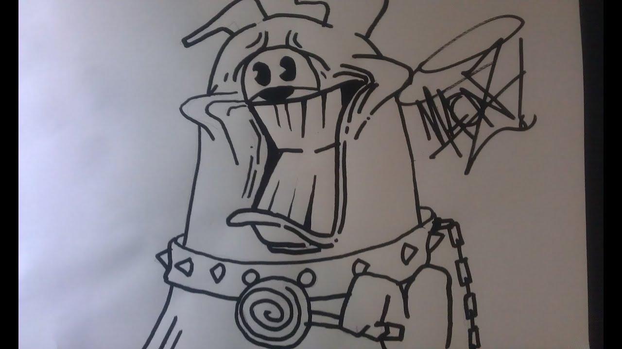 Perro graffiti character maonz youtube - Graffitis en papel ...