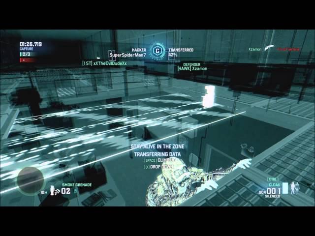 Splinter Cell Spies vs Mercs Blacklist Mode Full Match