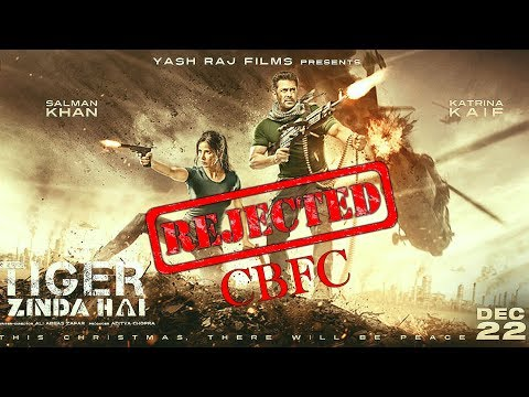 Tiger Zinda Hai Movie Ko Censor Board Film Certification (CBFC) Ka Jhatka