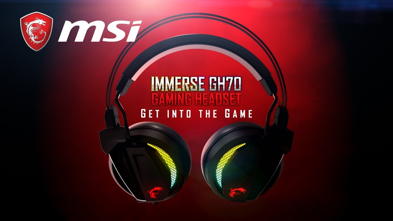 What you should know: MSI Immerse GH70 Gaming Headset