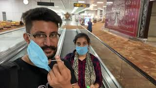 New Delhi To Toronto Air India Flight | Dekho Airport te Kive Test Hunde Han | Punjabi Vlogger