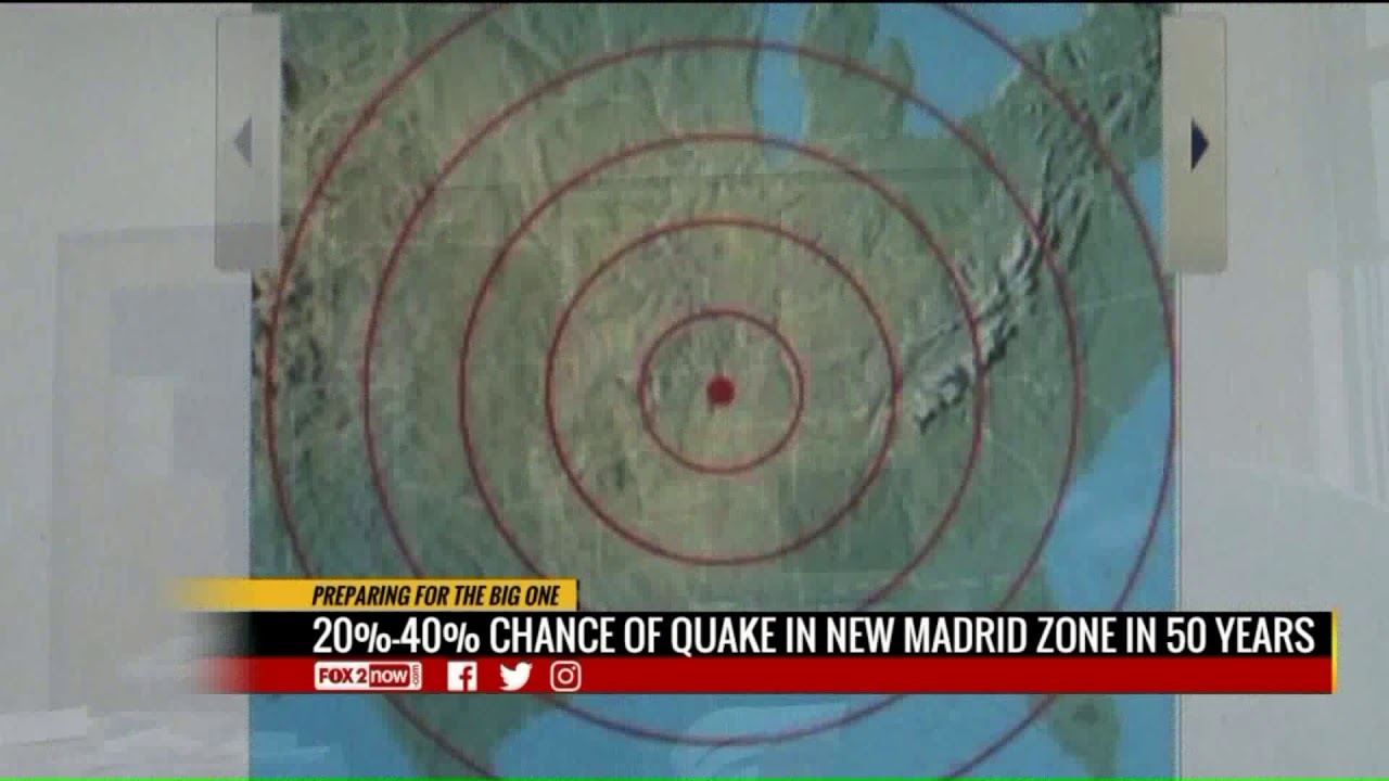 New Madrid Fault Predictions 2020 Earthquake in