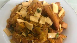 Bread Egg Masala || egg bread Masala || Quick  N Easy spicy egg Bread masala || Breakfast recipe