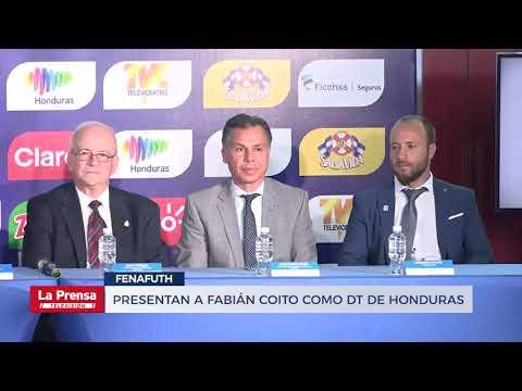 Presentan a Fabián Coito como DT de Honduras