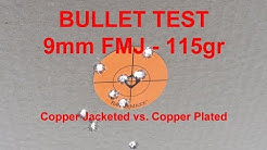 Copper Plated Bullets VS Jacketed Bullets