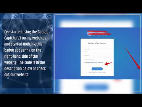 HOW TO REMOVE THE GOOGLE CAPTCHA BADGE ON WORDPRESS -Business
