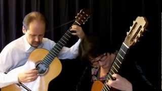 Mike Oldfield Tubular Bells Part II for 2 guitars / excerpts