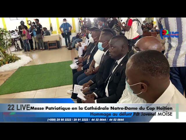 Messe Patriotique en la Cathédrale Notre-Dame du Cap Haitien #Rtvc #22Live