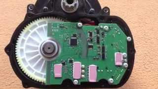 Bosch Pedelec Motor DU45 zerlegt, Hauptwelle erneuert, Inside- view