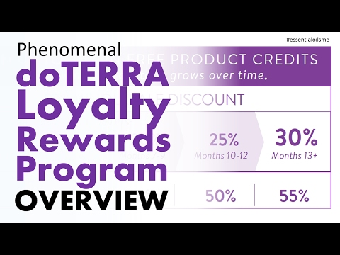 Phenomenal doTERRA Loyalty Rewards Program Overview