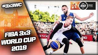 Latvia v Serbia | Men's Full Semi-Final | FIBA 3x3 World Cup 2019