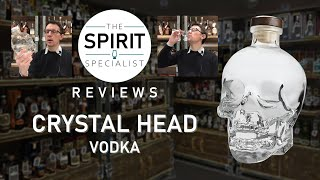 The Spirit Specialist reviews Crystal Head Vodka