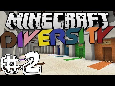 Minecraft:Diversity 2:самая эпичная карта: серия 1: АРЕНА ч.1.