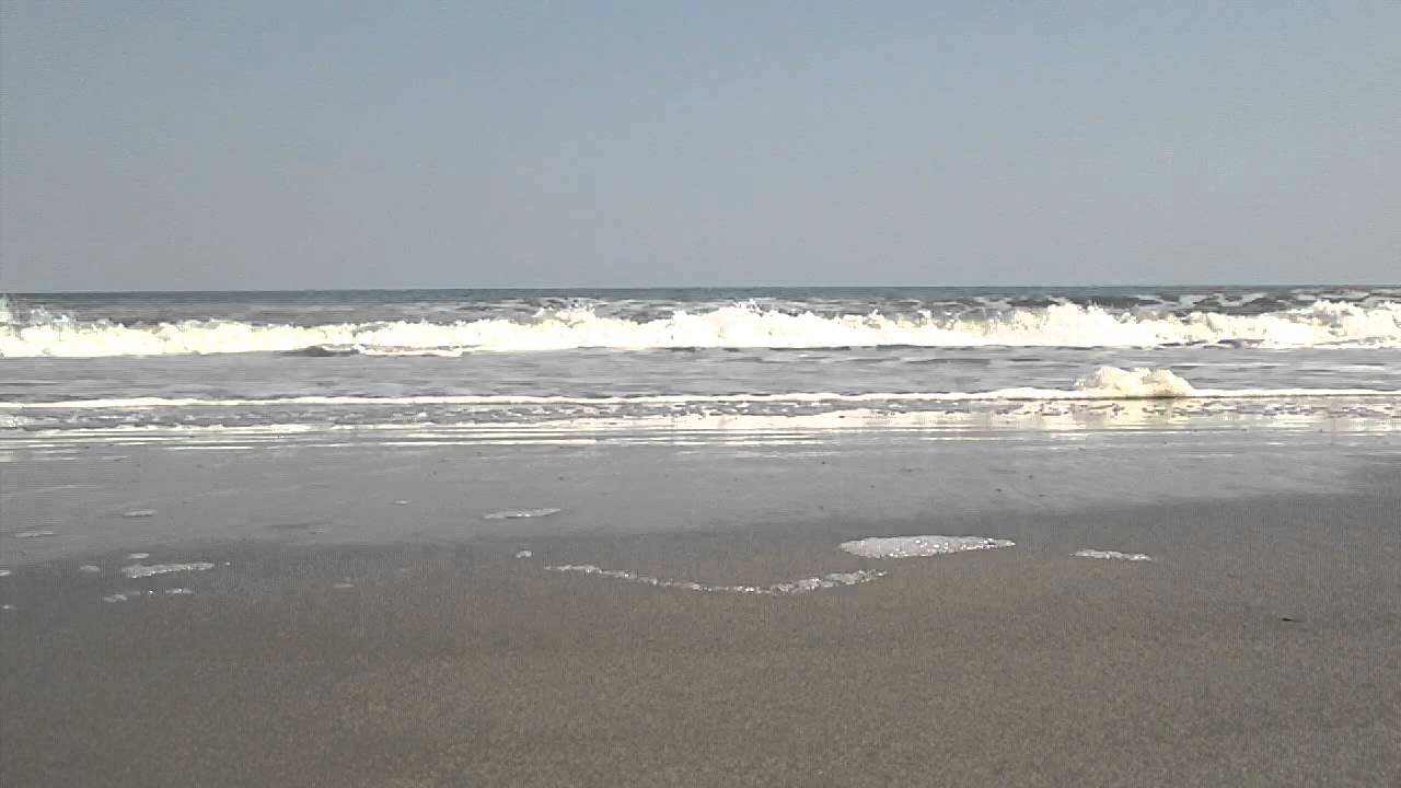 Myrtle Beach 2012 HD Ocean Waves And SolitudeNice
