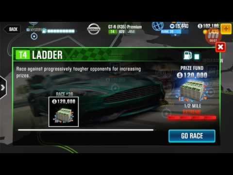 CSR Racing 2 - Tier 4 Ladder Race #36