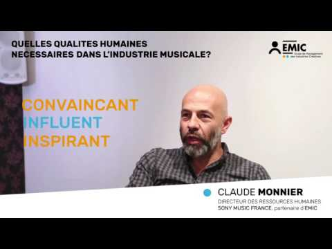 Interview EMIC | Claude Monnier, DRH Sony Music France (3)