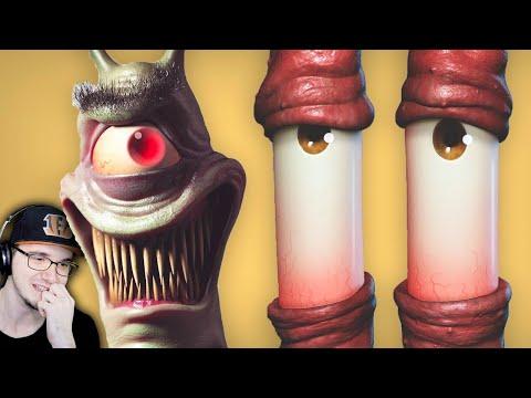 Мрачное прошлое Никелодеон ( Nickelodeon ) ► MysteryForce - Жуткие Мультфильмы | Реакция