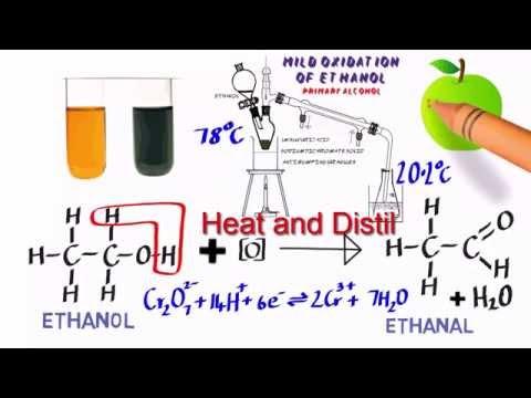 oxidation lab report