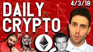 Daily Crypto News: Mayweather $CTR ICO Scam! Vitalik Gone Wild! Ethereum Fork? Verge scam?