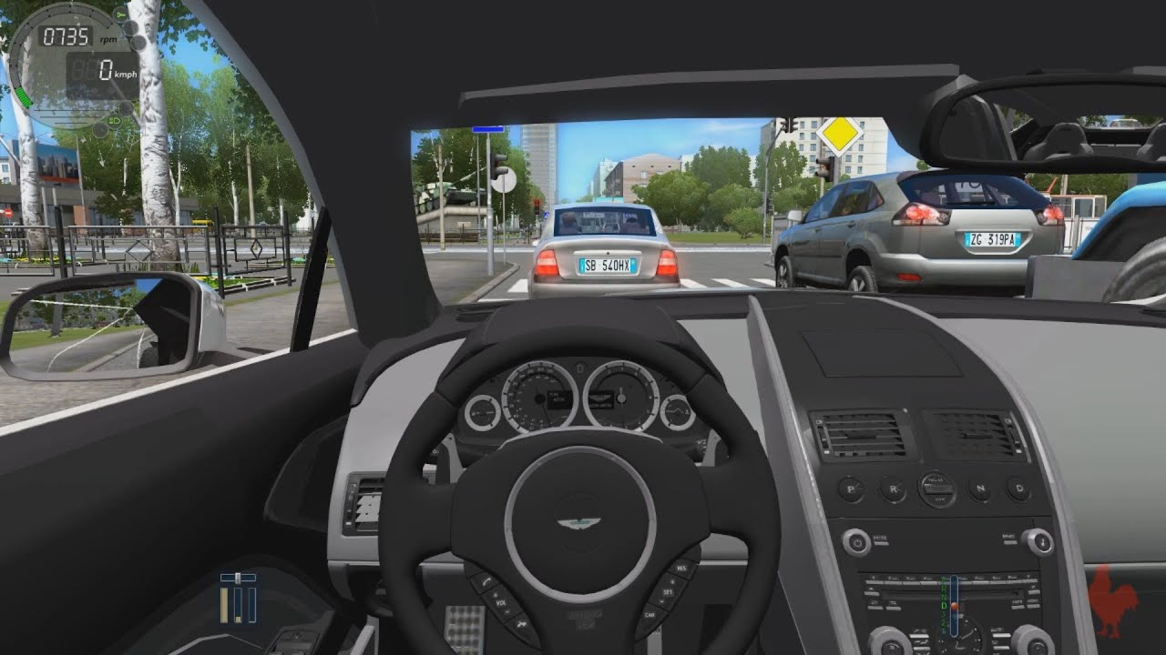 Superieur City Car Driving   Aston Martin Rapide   YouTube