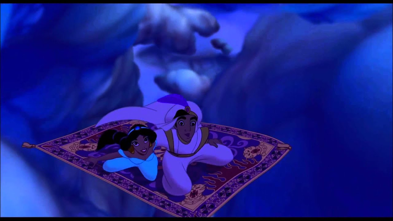 Aladdin And Jasmine On The Flying Carpet Carpet Vidalondon