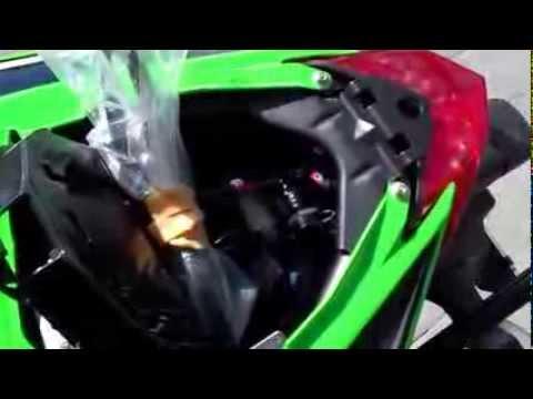 Bagasi Jok Belakang Kawasaki Ninja 300 Youtube