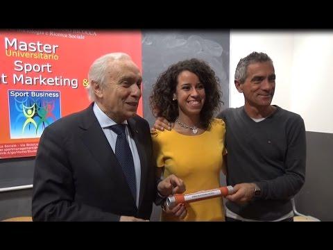 Eleonora Giorgi consegue il Master in Sport Management Marketing & Society