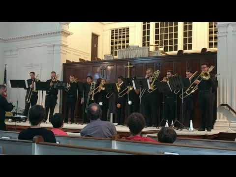 'Geological Survey' performed by 12 trombones