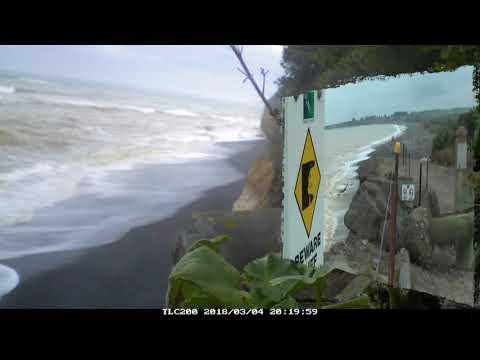 PATITI POINT TIMELAPSE, Coastal Erosion.